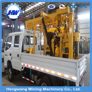 Trailer Mounted Drilling Rig/Portable Water Well Borehole Drilling Machine pictures & photos