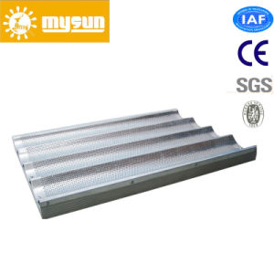 Aluminium French Bread 6 Channel Loaf Trays