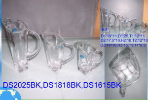 Glass Jars with Handle (H-801(JH)) pictures & photos