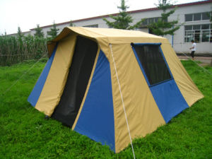 Waterproof Cotton Canvas Family Tent & China Waterproof Cotton Canvas Family Tent - China Family Tent ...
