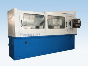 Zk2102A-2 Double Axis CNC Deep Hole Gundrilling Machine pictures & photos