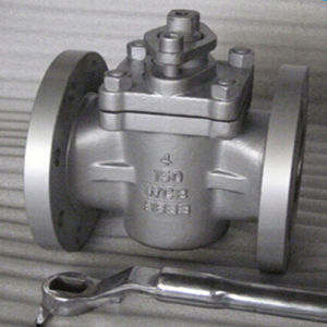 Handle Operation Jacket 3 Way Plug Valve pictures & photos