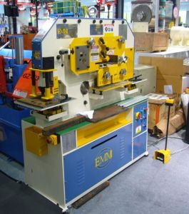 Single Cylinder Hydraulic Universal Multi-Function Ironworker Machine IW-60