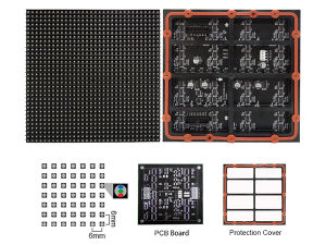 P6 Full Color Outdoor LED Display Module pictures & photos