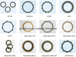 High Quality Clutch Plate /Clutch Friction for Motorcycle Brake Parts