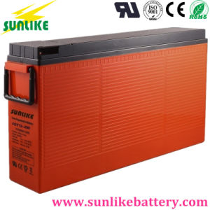 High Cycles 12V200ah Front Terminal Telecom Access Solar Lead-Acid Battery