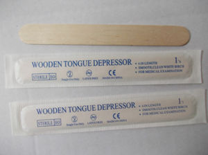 Sterilized Disposable Birch Wood Tongue Depressor pictures & photos