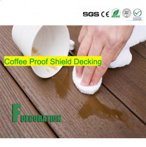 Co-Extrusion Plastic Wood Composite Decking WPC Flooring