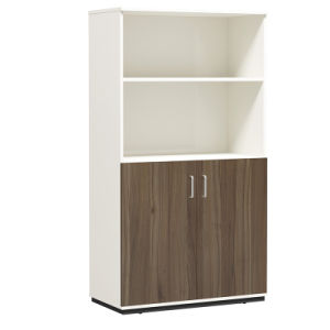 Modern Office Cabinet Storage Wooden File Bookcases With Doors