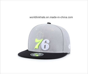 China Custom 3D Embroidery Snapback Cap with Logo Your Own Design ... 39162e9be6d