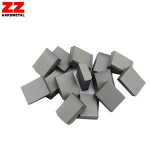 Tungsten Carbide Brazed Cutting Inserts pictures & photos