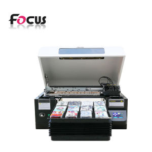 Focus Vocano Jet A3 Printing Machine Phone Case UV Printer pictures & photos