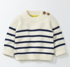 54a2a303176 Toddler Baby Boy Girl Knit Sweater Cute Unisex Kid Pullover Sweatshirt for  Size 3-8yrs