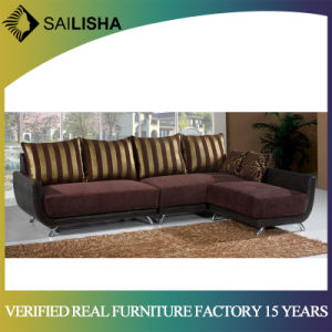 China Modern Style Furniture Couch Fabric L Shape Corner Sectional ...