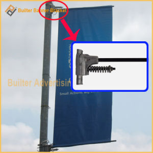 Outdoor Street Advertising Lamppost Pole Display Saver pictures & photos