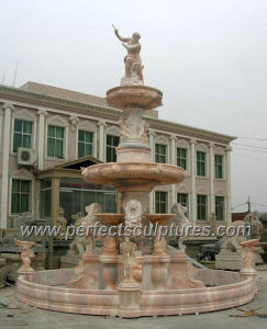 Stone Garden Fountain for Marble Water Fountain (SY-F346) pictures & photos