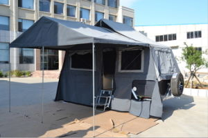 2015 Popular Hard Floor Forward Folding Camper Trailer pictures & photos