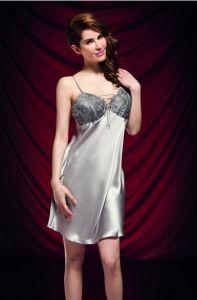 c9ea92f7828 China Silk Satin Wedding Lingerie Gown 100% Mulberry Silk Birthday Gift - China  Satin Silk