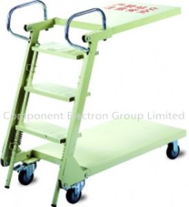 Folding Ladder Truck, Warehouse Cart, Ladder Trolley