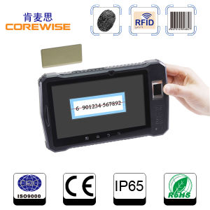 4G Lte Tablet PC with Bluetooth, WiFi, Finerprint, RFID, Bar Code Scanner