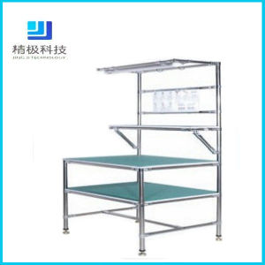 china stainless steel chrome plated pipe workbench jj gz07