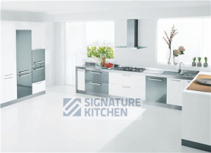 China Signature Kitchen-2014 New Design Modern PVC Kitchen Cabinet ...