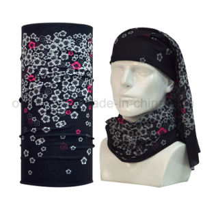 Hot Selling Popular Seamless Paisley Print Tube Bandana 100% Polyester pictures & photos