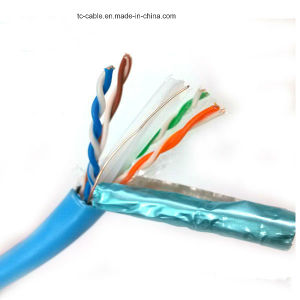 Ce Certificate UTP CAT6A Network Cable LSZH 305m/Roll pictures & photos