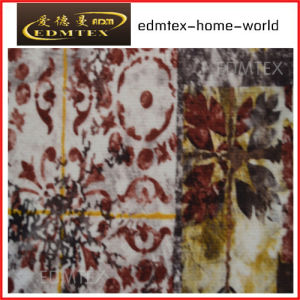 Curtain Fabric with Printed Styled-Cheap Price EDM0560