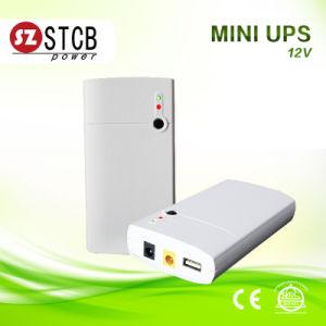 Mini UPS 12V Power Bank Share 12V Adapter for Router