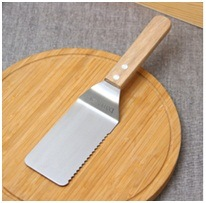 New Square Wooden Handle Pizza Shovel West Tableware Custom