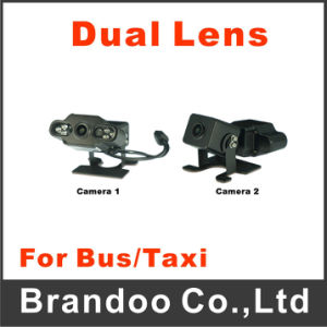 Dual Lens Two Camera Car Vehicle Camera