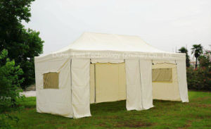 3m X 6m Folding Tent Gazebo with Rolling up Zipper Door