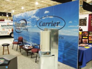 Popup Display and Modular Stands Trade Show Collapsible Display