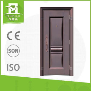 Safety Iron Main Exterior Door Designs with Metal Door Handle ...