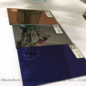 5mm European Grey Mirror/Colorful Silver Mirror/Colored Mirror Glass/Decorative Mirror Glass pictures & photos