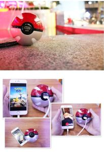 2017 Hot Magic Ball Power Bank Battery Pokemon pictures & photos