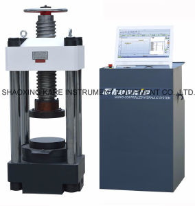 Computerized Electro-Hydraulic Servo Compression Testing Machine (YAW-3000) pictures & photos