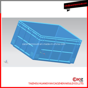 Plastic Double Wall Crate Mould with B Copper