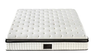 Cheap But Comfortable Pillow Topper Bonnel Spring Mattress pictures & photos
