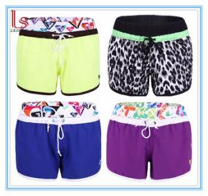 2aff83c966 China Swimwear Stretch spandex Cotton Boardshorts Ladies Swim Beach Pants