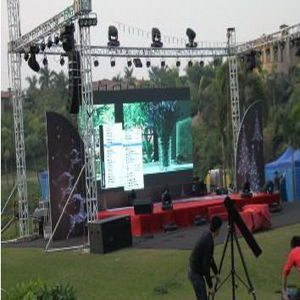 P6 Full Color Outdoor Rental LED Display Screen