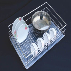 Furnace Pullout Basket Wire Organizer Bowl Rack