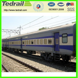 Railway Shipping for 62seats Passenger Train for Tourists Transportation pictures & photos