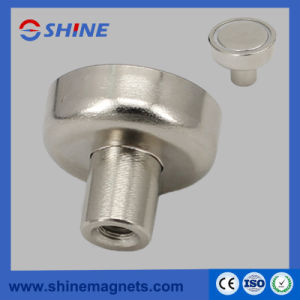 Neodymium Pot Magnets with Threaded Hole pictures & photos