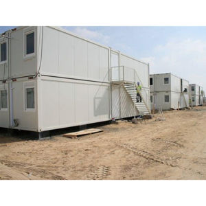 Good-Look Two-Floor Container House Mobile Buildings pictures & photos
