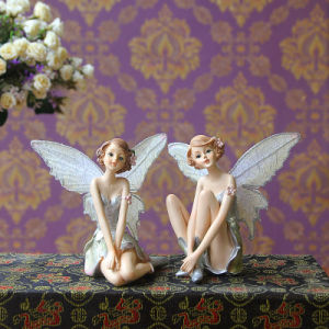 Living Room Decorations Hanging Foot Resin Doll Little Angel Fairy pictures & photos