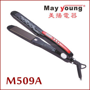 Wholesale Latest Design LCD Digital Hair Straightener pictures & photos