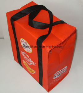 Experienced Non Woven Wine Bottle Carrier Cooler Lunch Bag pictures & photos