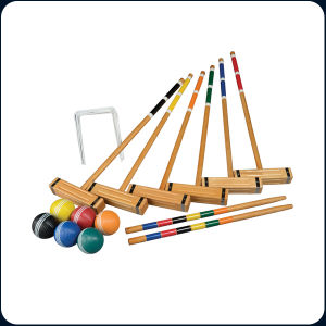 6 Players Croquet pictures & photos